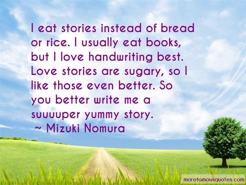 Bread Love Quotes