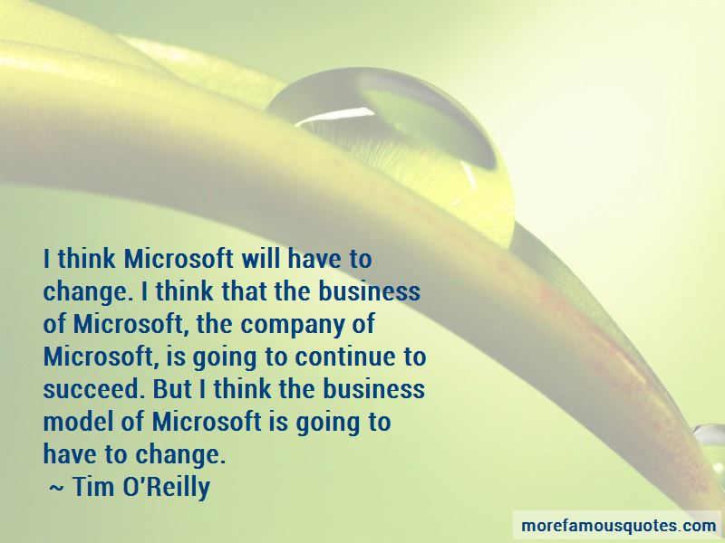 Business Model Change Quotes