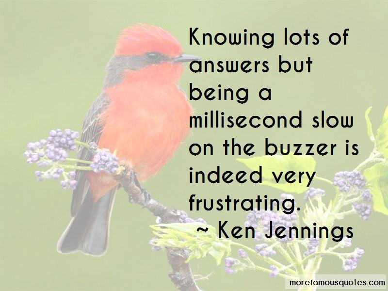 Buzzer Quotes