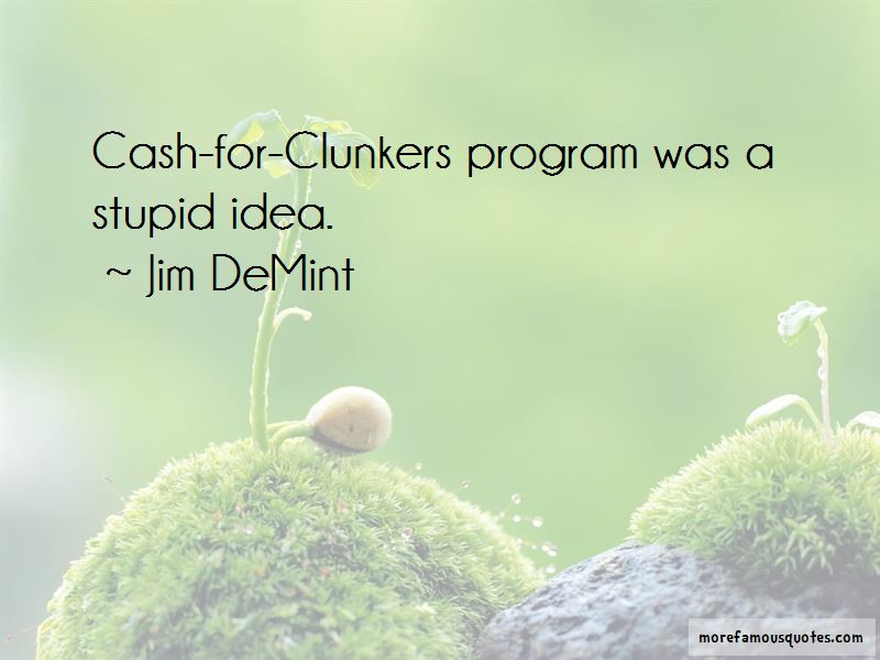 Cash For Clunkers Quotes