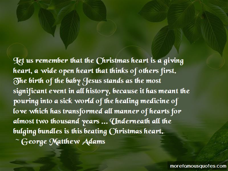 christmas is all about giving quotes