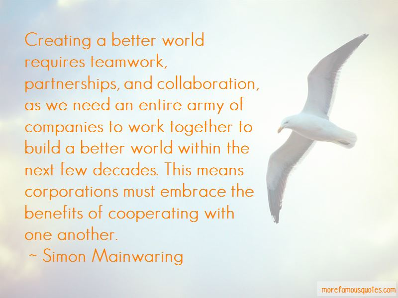 Collaboration Teamwork Quotes Pictures 2