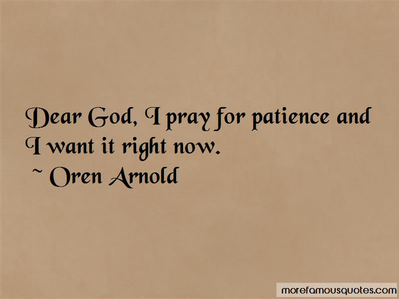 Dear God I Pray Quotes