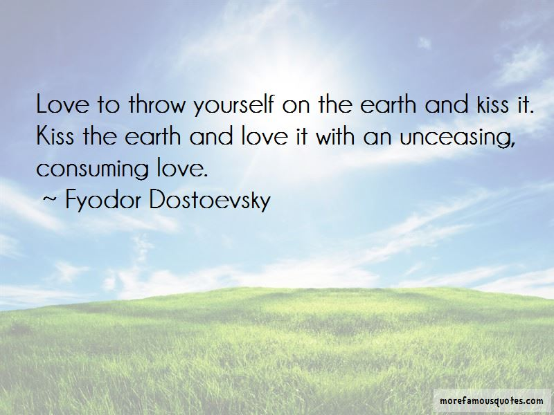 Earth And Love Quotes