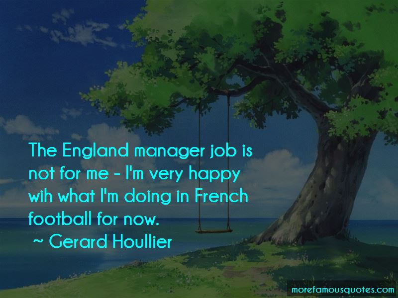 England Manager Quotes