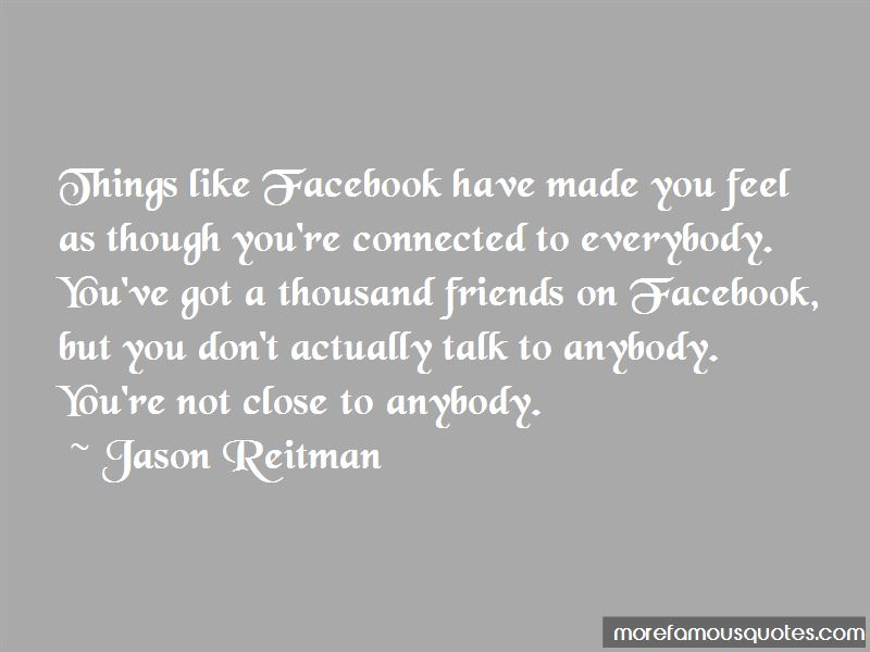 Facebook I Like You Quotes