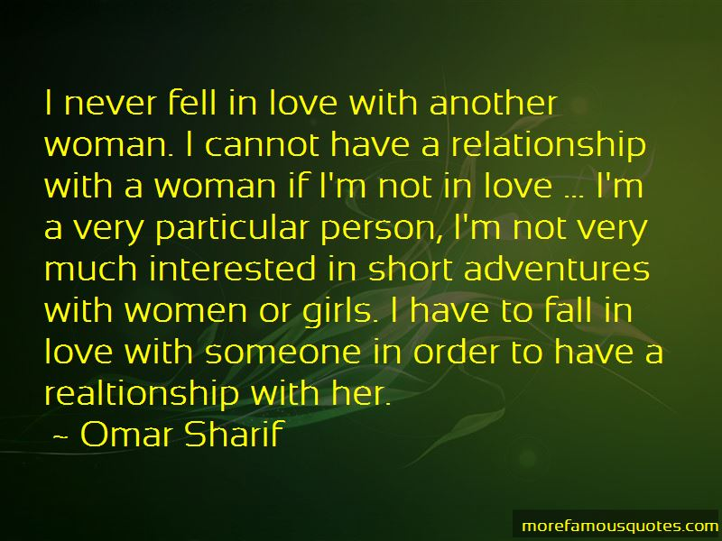 Fell In Love Short Quotes