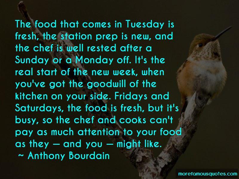 Food Prep Quotes