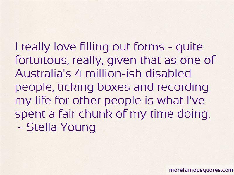 Fortuitous Love Quotes