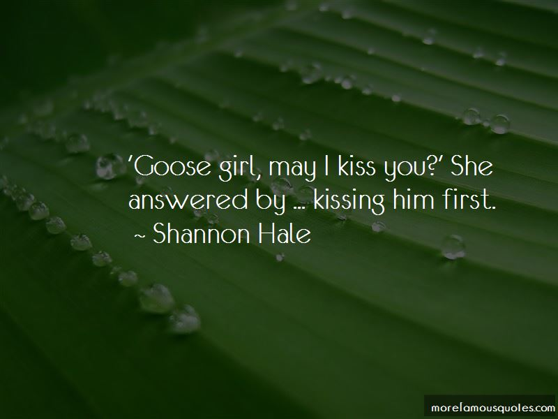 Goose Girl Quotes
