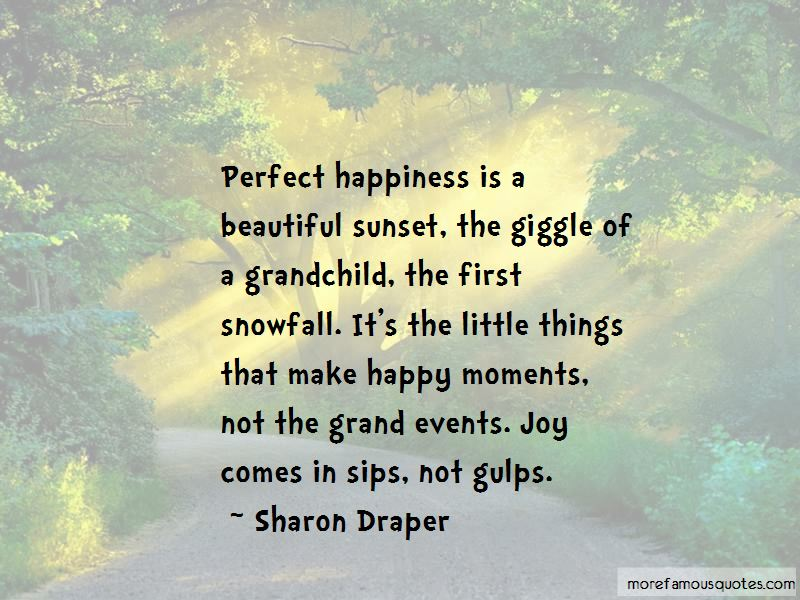 Happiness Comes From Little Things Quotes Pictures 2