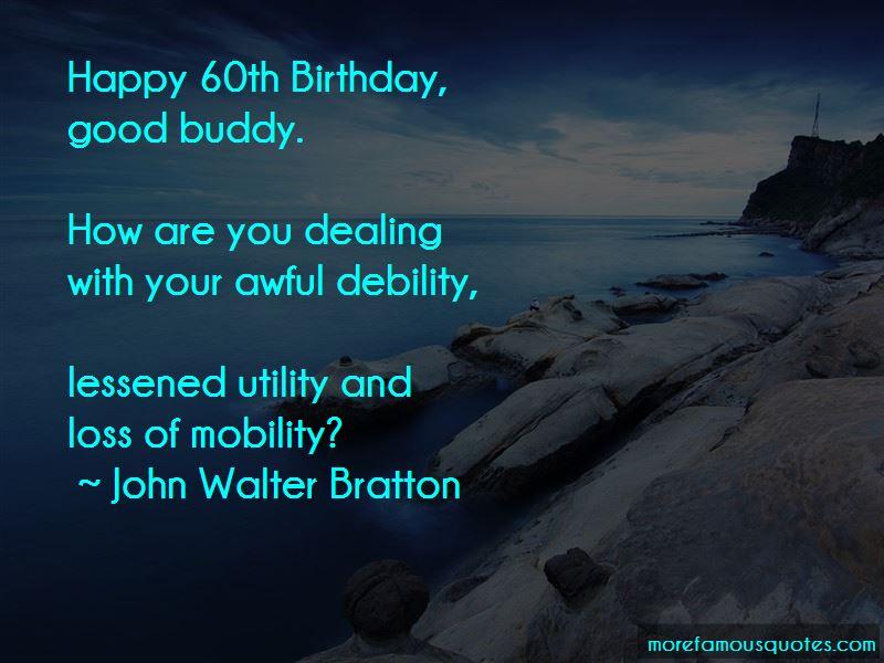 Happy Birthday My Buddy Quotes