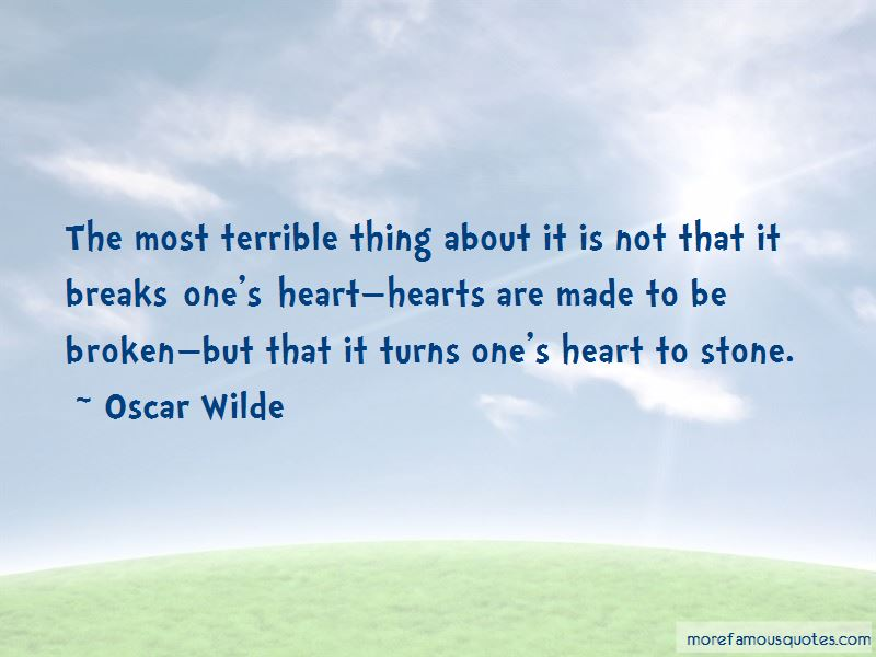 Heart Turns To Stone Quotes Pictures 3