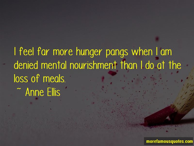 Hunger Pangs Quotes