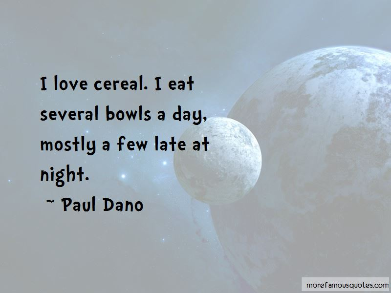 I Love Cereal Quotes