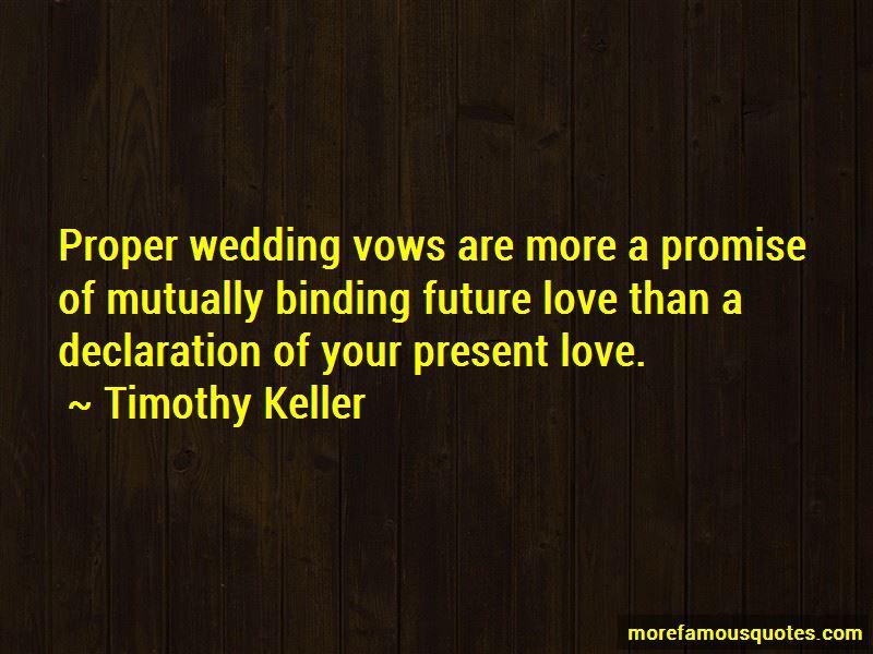 I Promise Wedding Quotes