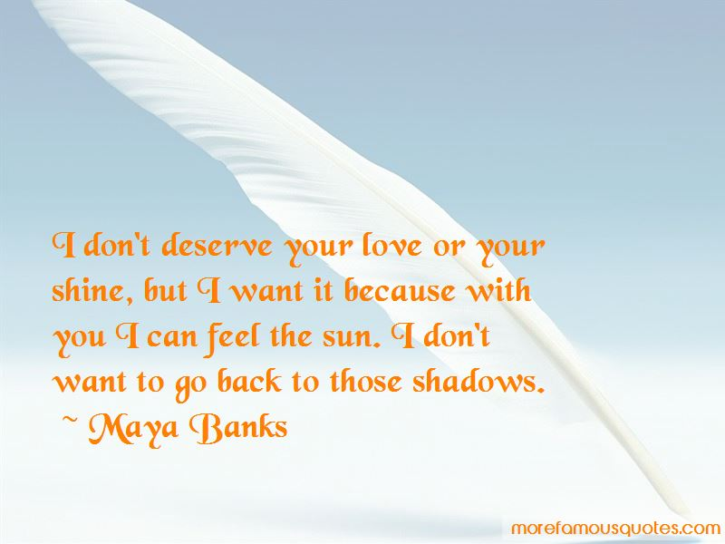 To back quotes her love get 25 Sweet