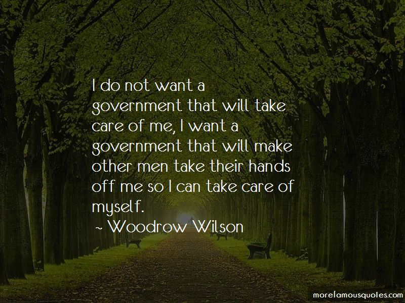I Will Take Care Of Myself Quotes