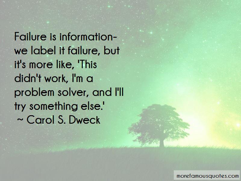 I'm A Problem Solver Quotes