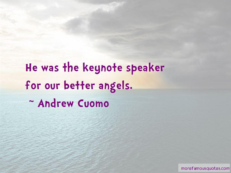 Keynote Speaker Quotes