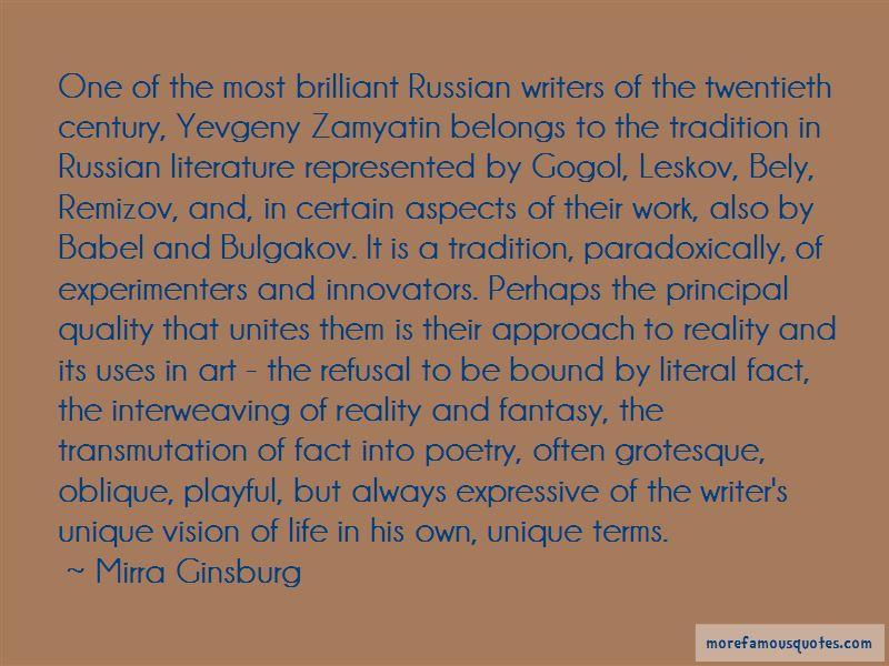 Leskov Quotes