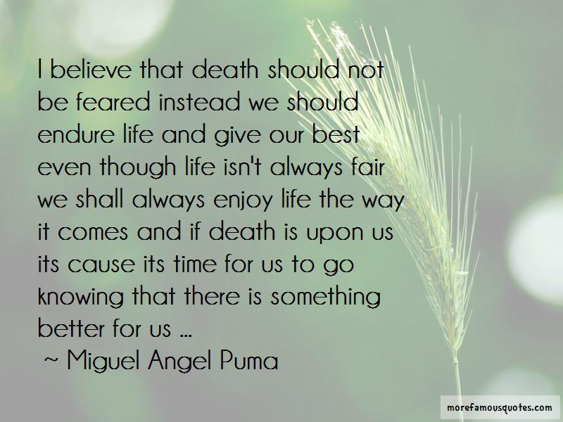 Life Isn't Always Fair Quotes