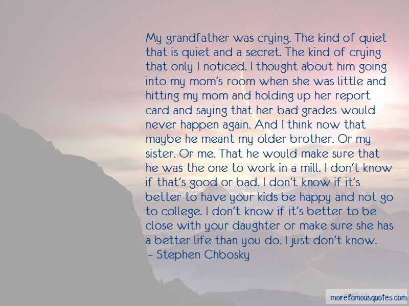 Little Brother And Older Sister Quotes: top 8 quotes about ...