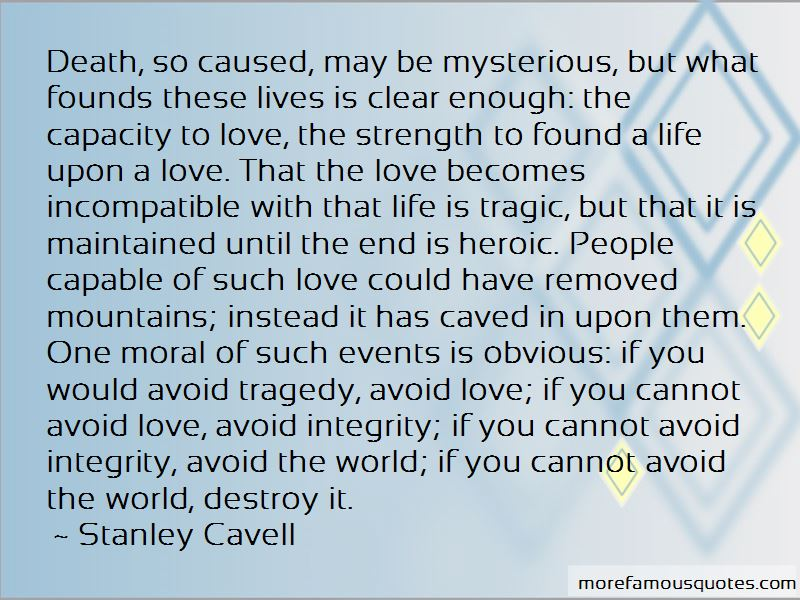 Love Avoid Quotes