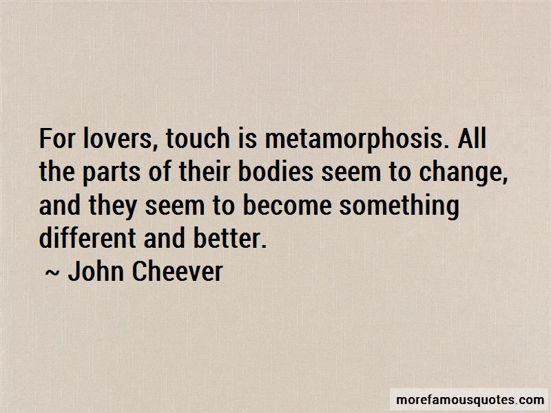 Lovers Touch Quotes