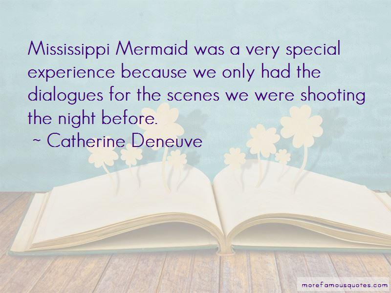 Mississippi Mermaid Quotes