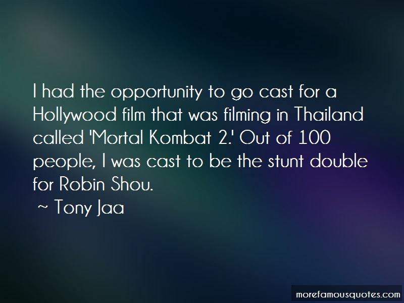 Mortal Kombat 2 Quotes