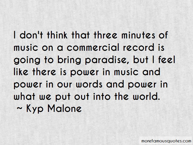Music And Power Quotes