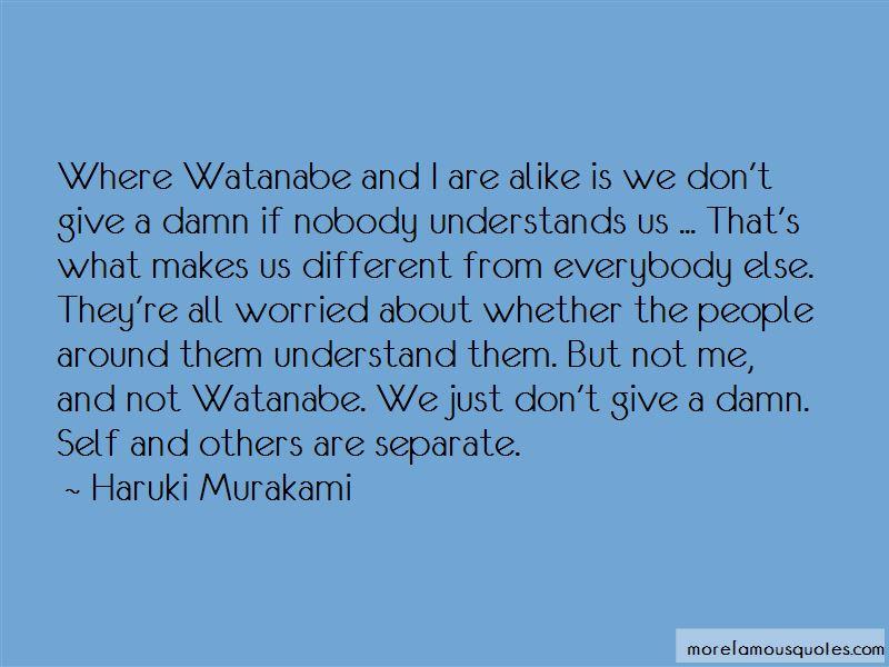 Nobody Understands Us Quotes