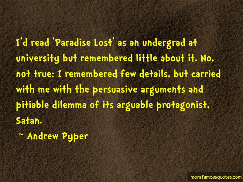 Protagonist Quotes