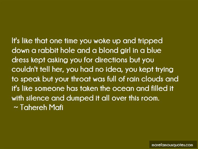 A Rabbit Hole Quotes Pictures 3