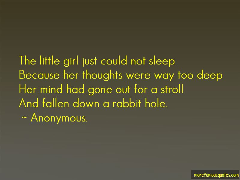 A Rabbit Hole Quotes Pictures 4