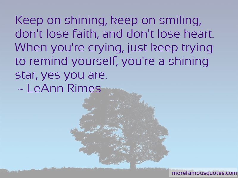 Quotes About A Shining Star