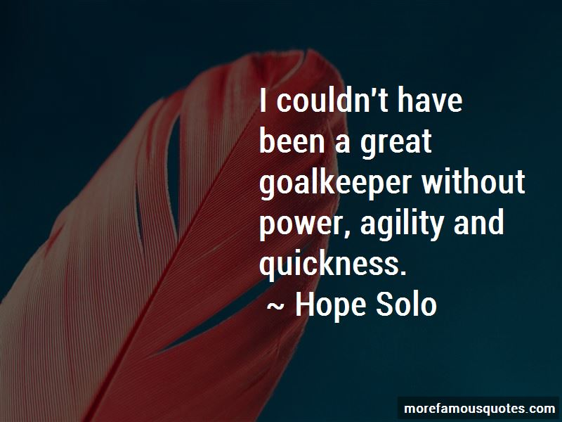 Quotes About Agility