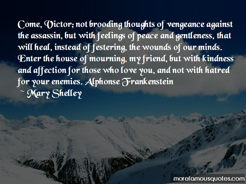 Quotes About Alphonse Frankenstein