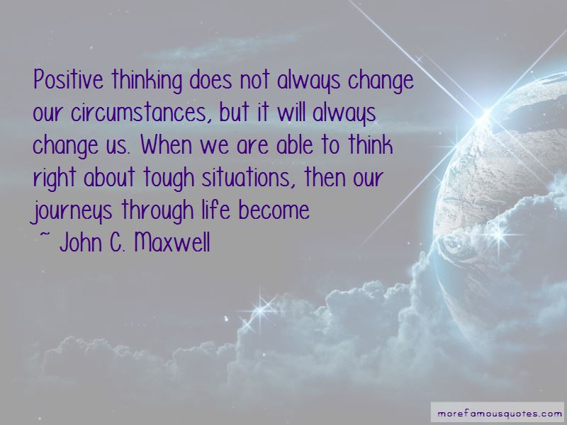 Quotes About Always Thinking Positive