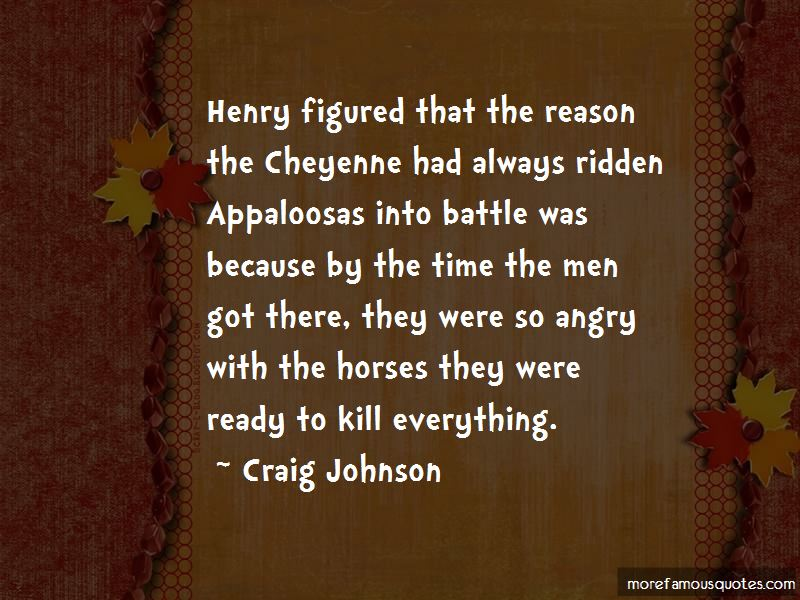 Quotes About Appaloosas