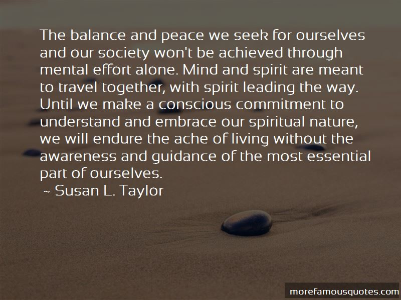 Quotes About Balance And Peace