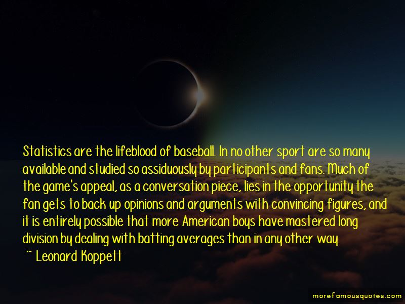 Quotes About Batting Averages
