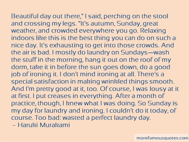 Quotes About Beautiful Sundays