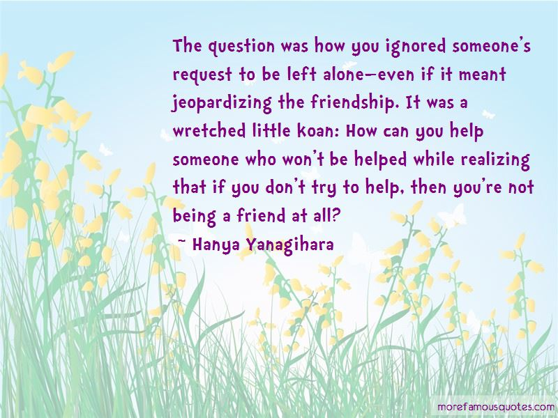 Quotes About Being A Friend
