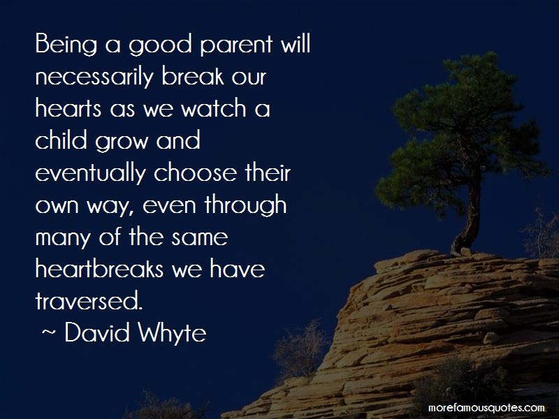 being a good parent Parents as role models but one of the most basic ways we can raise our children is simply by being a good and it's not about being a perfect parent.