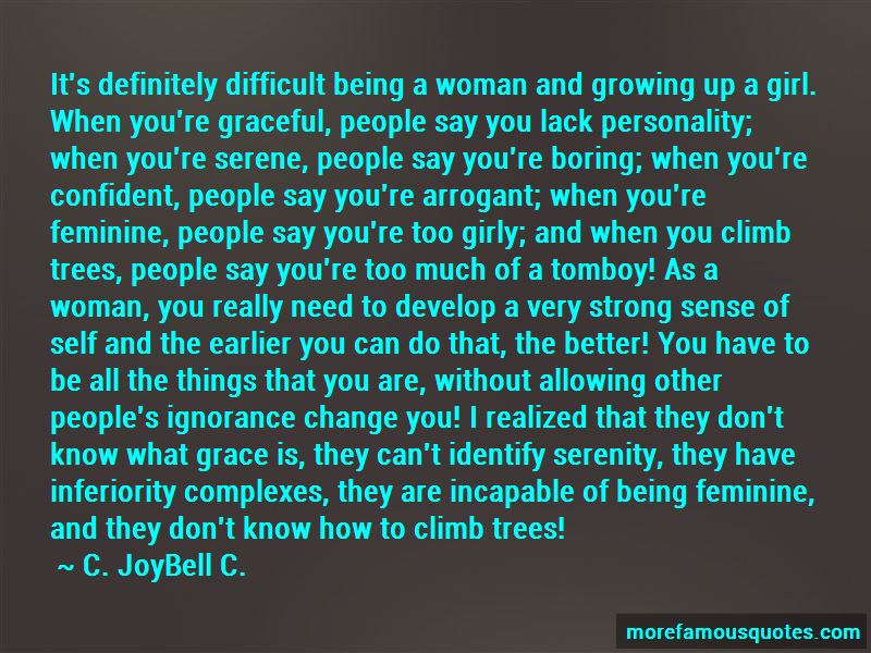 Quotes About Being A Strong Confident Woman