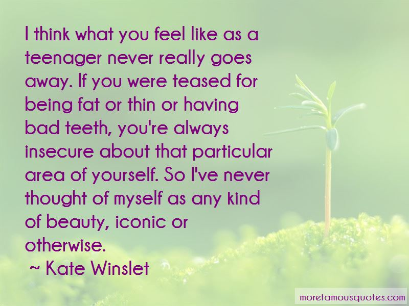 Quotes About Being Insecure About Yourself: top 5 Being ...