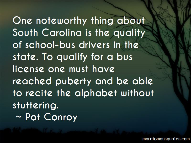 Quotes About Bus Drivers