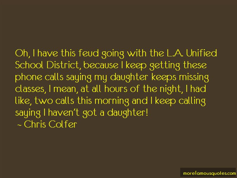 Quotes About Calling It A Night